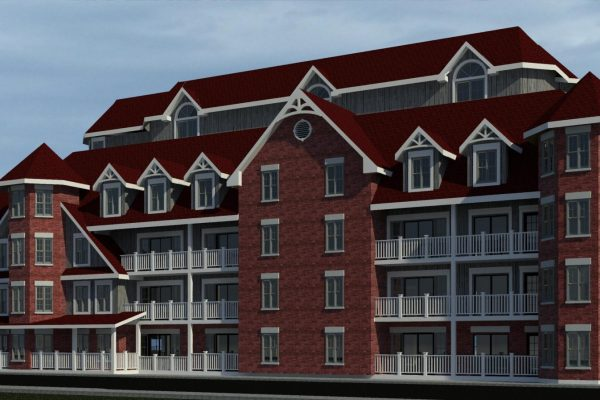 St Elizabeth Village rear rendering Stay project by Reinders and Rieder
