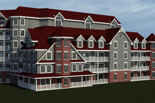 St Elizabeth Village windows rendering Stay project by Reinders and Rieder