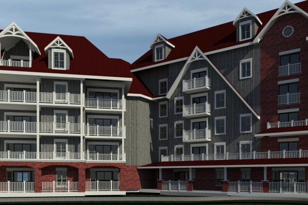 St Elizabeth Village 3d rendering Stay project by Reinders and Rieder