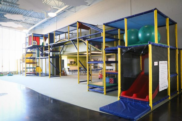 Creekside Church play area Pray project by Reinders and Rieder
