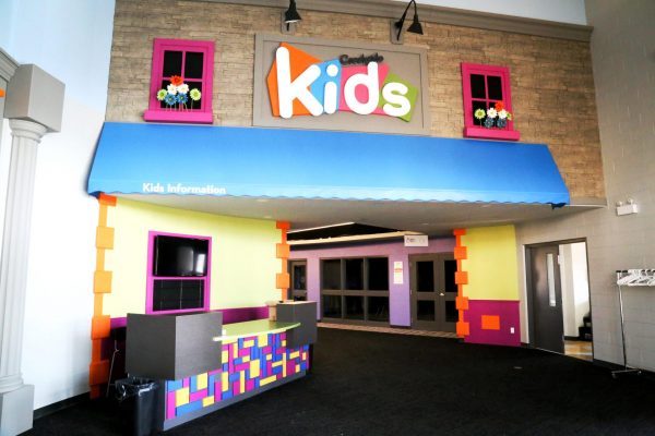 Creekside Church kids area Pray project by Reinders and Rieder