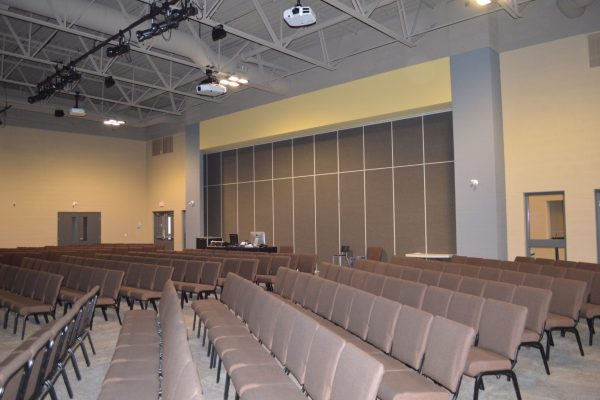 Creekside Church worship area Pray project by Reinders and Rieder