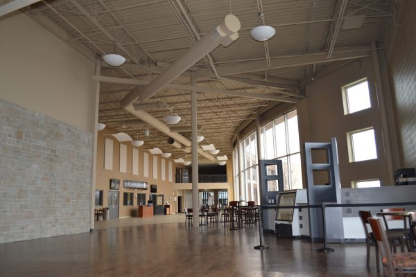 Creekside Church main hall Pray project by Reinders and Rieder