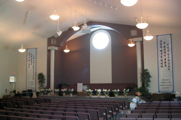 Vaughan Community Church stage Pray project by Reinders and Rieder