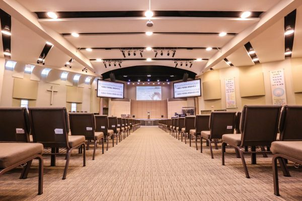 Vaughan Community Church indoor Pray project by Reinders and Rieder