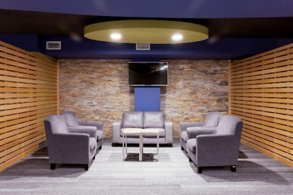 Richmond Hill CCC seating Pray project by Reinders and Rieder