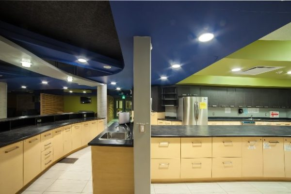 Richmond Hill CCC the kitchen Pray project by Reinders and Rieder