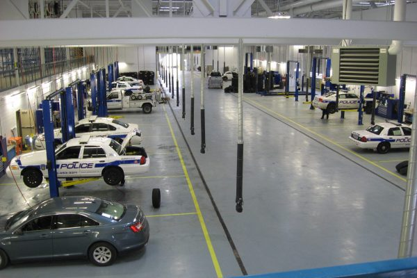 Peel Police car shop earn project by Reinders and Rieder