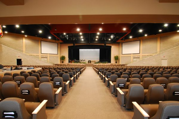 Global Kingdom Ministries front worship hall Pray project by Reinders and Rieder