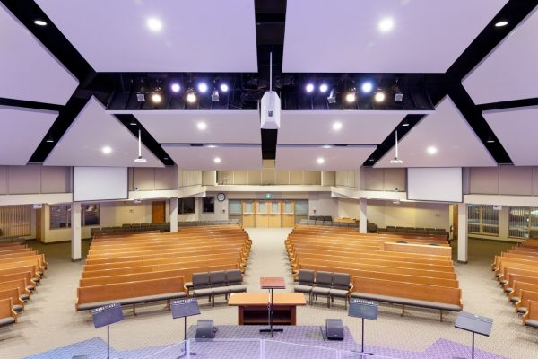 Richmond Hill CCC prayer hall Pray project by Reinders and Rieder