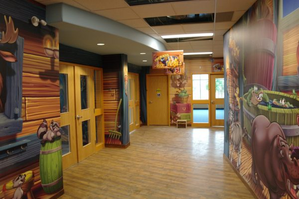 Vaughan Community Church play area Pray project by Reinders and Rieder