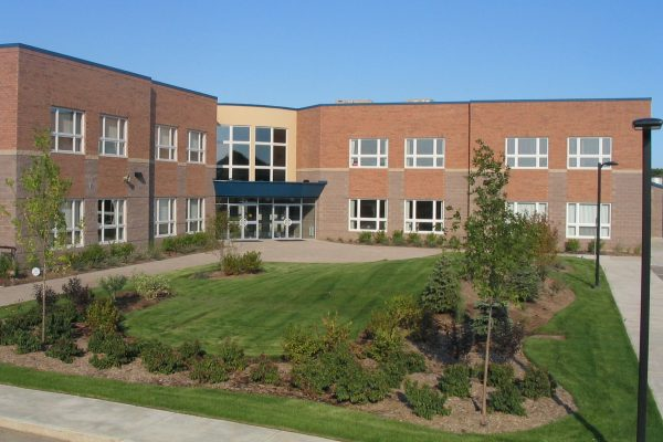 Trinity Christian School exterior Learn project by Reinders and Rieder