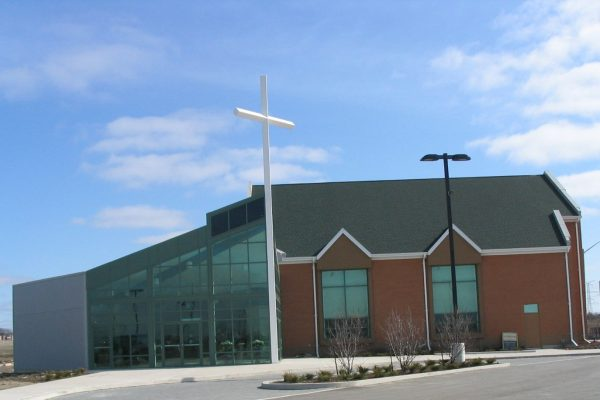 Vaughan Community Church exterior Pray project by Reinders and Rieder